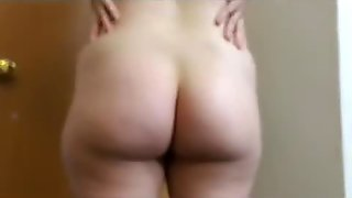 Sexy Panty Tease and Coconut Oil Rub