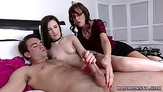 Fat mom caught playmate and milf stocking ass fuck Lewd Mother associate s daughter