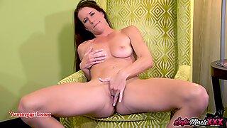 SofieMarieXXX - Mature Sofie Marie Wanking In Panties