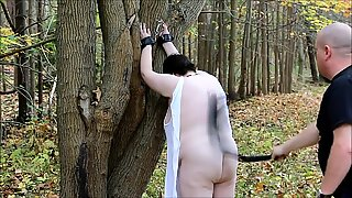 Kaylee Punished Outside