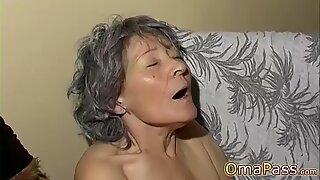 OmaPasS Amateur Mature and Lesbian Granny Toying
