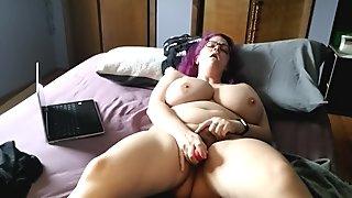 Masturbating and having a great orgasm