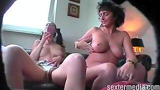 Deutsche Familie heimlich gefilmt!