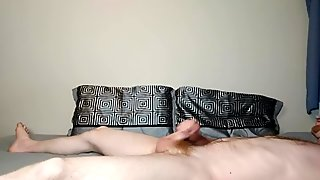 Hairy Ginger Squirming Multi-Orgasm Masturbation - First Video!!!