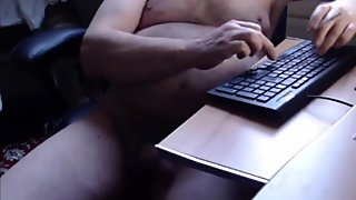 masturbate and rolling belly