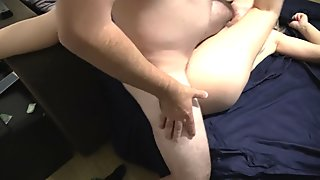 StepAunt let me cum on your face - Screaming loud orgasms