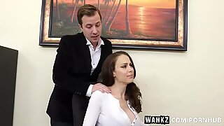 WANKZ- Huge breast mummy manager McKenzie Lee Cums