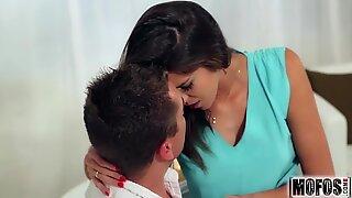 Olive Skinned beauty flick starring Casey Jordan - Mofos.com