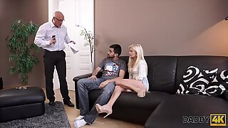 DADDY4K. kinky blondie wants to try someone tiny bit more expert
