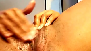 Squirting while masturbating