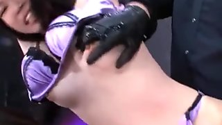 Three On One Asian Hardcore BDSM Toy Action