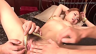 Sex with hairy asian angel