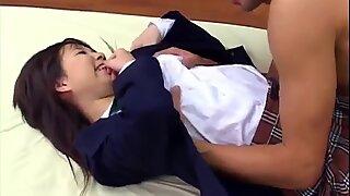 Nana Kurosaki romantic sex play with the teacher - More at 69avs.com