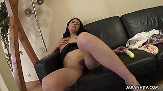 Masturbation seance she pleases the Generals flag pole