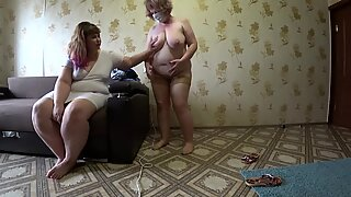going knuckle deep in medical gloves, mature plus-size lesbians. medical check-up milf